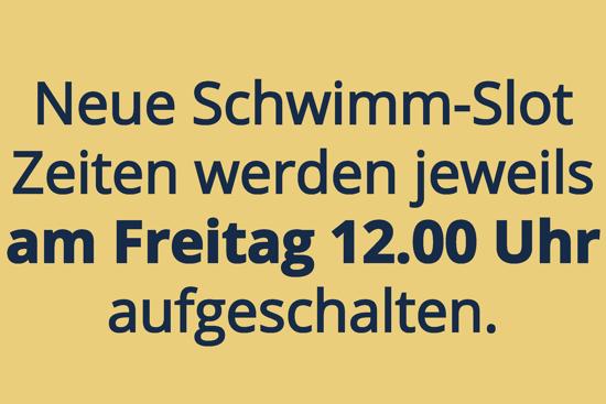 Picture of Schwimmslot mit Platzgarantie