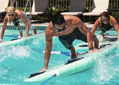 Picture of Fotoshooting SUP Workout